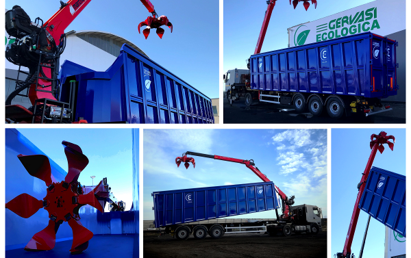 trailer with crane