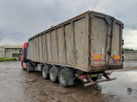 used trailer for scrap metal